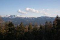 widok na góry w Szklarskiej Porębie